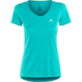 Salomon Mazy t-shirt Dames, enamel blue